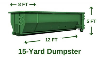 rent 15 yard dumpster utah