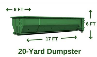 rent 20 yard dumpster utah